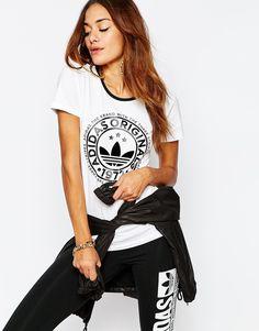 adidas+Originals+Trefoil+Series+Fitted+T-Shirt