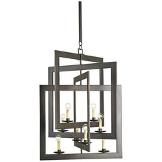 Currey and Company Middleton Chandelier 9927