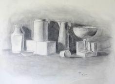 Chiaroscuro Graphite Drawing