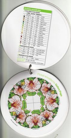 Gallery.ru / Фото #43 - The world of cross stitching 162+прил.18 Pretty Floral Chart - tymannost