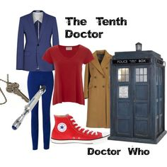 """Tenth Doctor: Female Version"" by michelle-curtis on Polyvore Doctor Who"