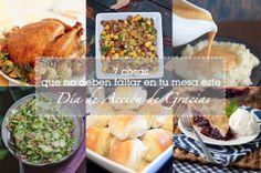 7 cosas que no deben faltar en tu mesa este Día de Acción de Gracias #recetas #thanksgiving #recipes