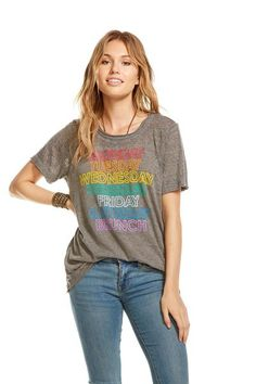 We found the graphic tee you've been looking for! You'll never stop loving this triblend short sleeve tee. The super soft fabric and perfect fit make this tee a