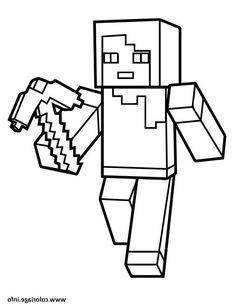 Ausmalbilder Minecraft Alex (mit Bildern)   Minecraft ...