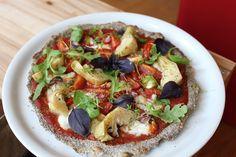 Pâte à pizza aux graines de chia : une recette sans gluten rapide et facile   Fitnessfriandises.fr