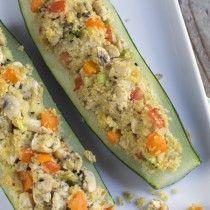 Courgette gevuld met kip en couscous 02