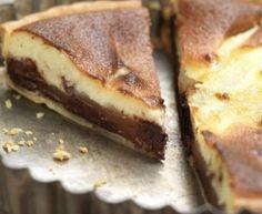 tarte aux poires et au chocolat croquant : Recette de tarte aux poires et au chocolat croquant - Marmiton
