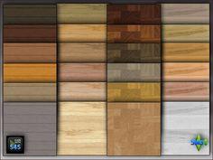Arte Della Vita: 4 wooden floors in 6 colors • Sims 4 Downloads