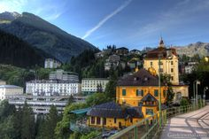 Bad Gastein Bad Gastein, Abandoned Places, Austria, Travel Guide, Countries, Mansions, Architecture, House Styles, Pretty