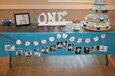 FIRST BIRTHDAY PARTY FOR MY SON JASE. HOW TIME FLIES BIRTHDAY THEME.