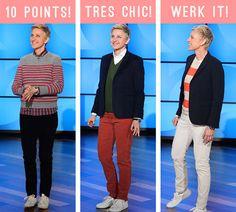 Style icon: Ellen DeGeneres. Design Sponge