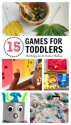 Games for Toddlers that Promote Creative Thinking   Perfect for the Toddler Room or Daycare