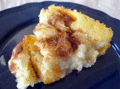 Yum... Id Pinch That!   Peaches and Cream Cake