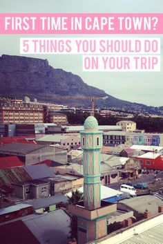 First time in Cape Town? From natural beauty and urban haunts to historical landmarks, South Africa's Mother City has it all. Click through for all the sights, cafés, streets and local hangouts you should explore on your trip.