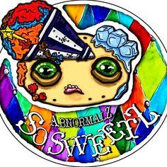 "Loving my ""Abnormalz So Sweetz"" logo. Quirky, strange and colourful... just the way I like it!!! 🤡🍩🎨 . . . #abnormalz #abnormalzsosweetz #creepy #strange #toyart #darkart #macabre #handmadeinaustralia #circus #freakshow #fantasy #bespoke #welovecollect #instagramart #magic #beautifulbizzare #artoninstagram #polymerclay #artistic_share #toys #handmadetoys #art #scifi #artoftheday #instacool #etsyseller #instadaily #instagood #instashare #etsy Modern Cakes, Toy Art, Vintage Circus, Clowns, Macabre, Handmade Toys, Dark Art, Doll Toys, Art Day"