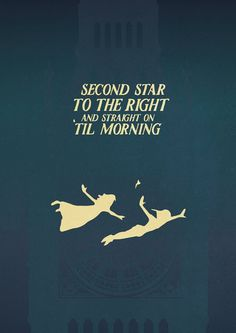 Peter Pan (1953) ~ Movie Quote Poster by Gian Nicdao #amusementphile