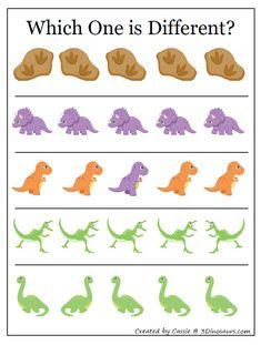 Dinosaur Theme Preschool, Kindergarten Homework, Hidden Pictures, Preschool At Home, Busy Book, Stories For Kids, Kids Education, Teaching English, Toddler Activities