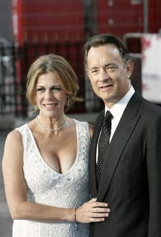 Rita Wilson and Tom Hanks - married in 88