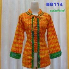 baju blus batik kerja wanita BB114 Rp.135.000