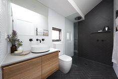 the block bathroom images 2018 - Bing images Reece Bathroom, Laundry In Bathroom, Small Bathroom, Downstairs Bathroom, Red Bathroom Decor, Bathroom Colors, Bathroom Ideas, Bathrooms Decor, Bathroom Inspo
