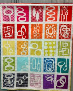 Absolutely Love this! heather davidson quilt | Modern Quilt Relish: More Quiltcon Quilts