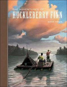 The Hardcover of the The Adventures of Huckleberry Finn (Sterling Unabridged Classics Series) by Mark Twain, Scott McKowen Adventures Of Tom Sawyer, Adventures Of Huckleberry Finn, 007 Casino Royale, American Literature, Children's Literature, American History, English, Classic Books, Childrens Books