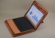 Surface Pro Business Stand Portfolio Case with Surface type touch Keyboard Carrying,with Record Writing Notepad Holder,with Kickstand Microsoft Surface, Writing Notepad, Portfolio Case, Surface Pro, Letter Size Paper, New Toys, Keyboard, Ipad, Manualidades