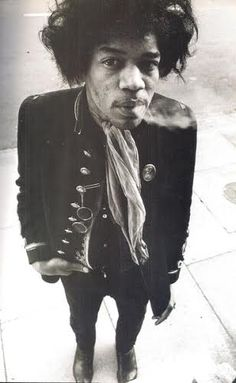 Jimi Hendrix, A Look'en At Cha and Wondering Is Anyone To Home In There?