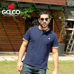 Las #PolosGoco son el complemento ideal para tu look de hoy. No esperes más pide las tuyas en www.gococlothing.com Somos #LaMarcaDelGorila