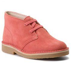 1886667a3c54 Outdoorová obuv CLARKS - Desert Boot 2613415770 Coral Suede - Topánky -  Čižmy a iné - Diavča - Detské - www.eobuv.sk