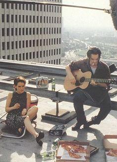 Ethan Hawke and Winona Ryder. 1994 Reality Bites