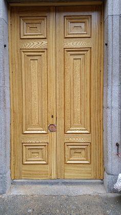 Wooden Main Door Design, Room Door Design, Latest Door Designs, Main Gate, Grisaille, Room Doors, Double Doors, Dublin, Marble