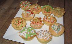 Afbeeldingsresultaat voor cupcakes kerst met decoratiestift