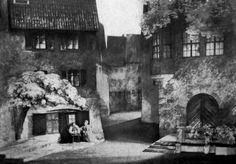 """"""" Die Meistersinger von Nürnberg """" 2.Aufzug 1951 Bühnenphoto"""