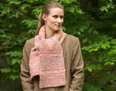 Avalanche Drop Stitch Scarf | NorthCoast Knittery