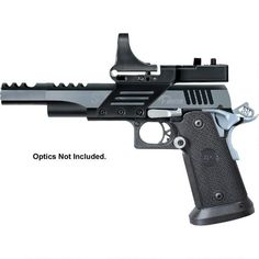 Shop Metro Arms SPS Vista Short Semi Auto Pistol Luger Barrel 21 Rounds Black Polymer Grips Black/Chrome Finish with Scope Mount and more from Cheaper Than Dirt! Shooting Sports, Revolver, Chrome Finish, Hand Guns, Barrel, It Is Finished, Racing, Pew Pew