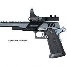 "Metro Arms SPS Vista Short Semi Auto Pistol 9mm Luger 5"" Barrel 21 Rounds Black Polymer Grips Black/Chrome Finish with Scope Mount SPVS9BC"