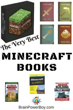 Minecraft is super popular. Click through to find the best Minecraft books for moving beyond beginner.