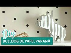 DESAFIO DIY | Bulldog de papelão | Por GavetaMix - YouTube