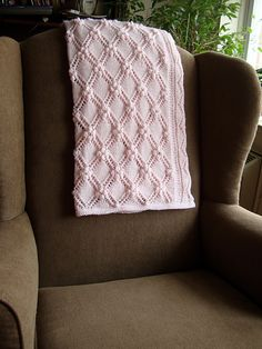 Ravelry: Estonian Princess Baby Blanket pattern by Sami Kaplan