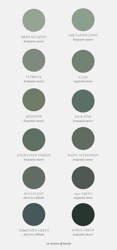 Best green paint colors - IHOD