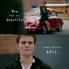 "#TVD 8x16 ""I Was Feeling Epic"" - Stefan and Lexi"