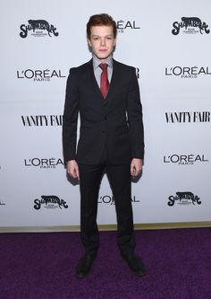 WEST HOLLYWOOD, CA - FEBRUARY 21:  Actor Cameron Monaghan attends Vanity Fair and L'Oreal Paris Toast to Young Hollywood hosted by Dakota Johnson and Krista Smith at Delilah on February 21, 2017 in West Hollywood, California.  (Photo by Emma McIntyre/Getty Images for Vanity Fair) via @AOL_Lifestyle Read more: https://www.aol.com/article/entertainment/2017/02/22/vanity-fair-young-hollywood-red-carpet-arrivals/21719327/?a_dgi=aolshare_pinterest#fullscreen