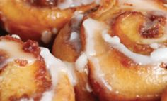 Maple Rolls with Cheesecake Icing
