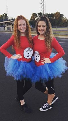 Thing 1 And Thing 2 The Perfect Bff Costume Costume Theme