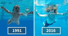 Baby From Nirvana's Album Cover Recreates Iconic Photograph 25 Years Later | Bored Panda