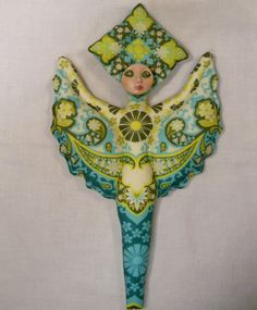 Goddess of Harmony cloth art doll form w/face cab 12 by arziehodge, $22.00 on Etsy, you finish it!