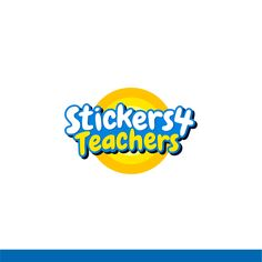 Design a fun and funky logo for Stickers4Teachers by Halin
