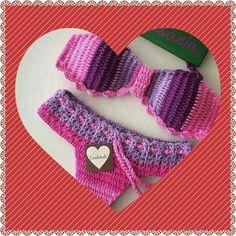 Traje de baño a crochet
