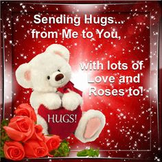 Send a Hug Day 21st January/Warm Hugs section. Send this warm ecard to anyone on Send a Hug Day. Permalink : http://www.123greetings.com/events/send_a_hug_day/warm_hugs/from_me_to_you_10.html